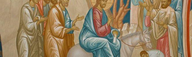 Проповедь диакона Александра Васильева в праздник Входа Господня в Иерусалим 25.04.2021