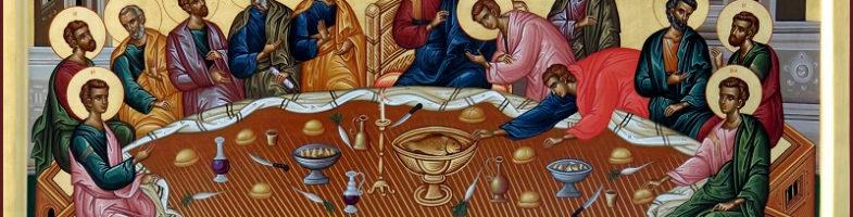 Проповедь протоиерея Константина Курбанова в Великий Четверг 29.04.2021