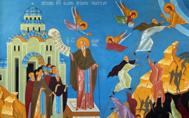 Проповедь протоиерея Константина Курбанова в Неделю 4-ю Великого поста, прп. Иоанна Лествичника 11.04.2021